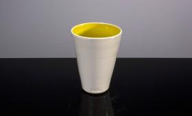 Vit gul kopp